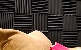 無響室・防音室に貼る吸音材