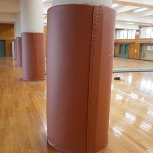 壁の保護マット・支柱マットなど安全対策用の防護マットの製作